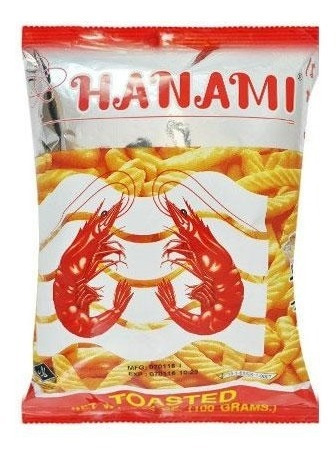 snack de langostino 100 gr - origen tailandia