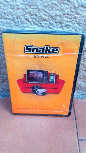 snake - dvd en vivo + 5 video clips oficiales de la banda.