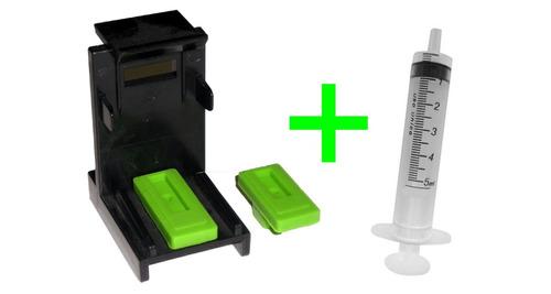 snap fill pressurizador cartucho impressora hp 60 662 122 92
