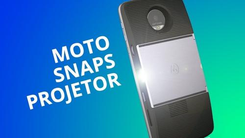 snap projetor insta share para moto z - nf e garantia 1 ano