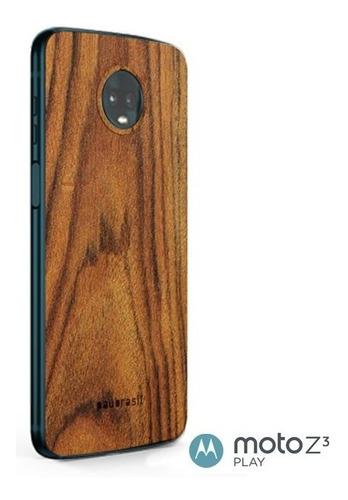 snap sticker back madeira - várias opções - moto z3 play