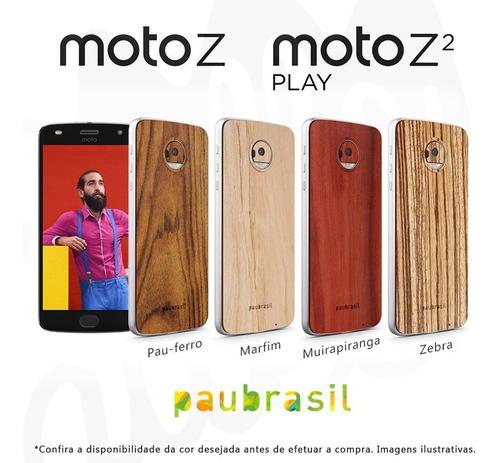 snap sticker back style shell madeira moto z2 play paubrasil