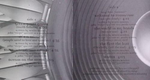 snap welcome to tomorrow cassette nacional raro 1994  sp0