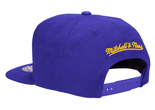 snapback mitchell and ness los angeles lakers