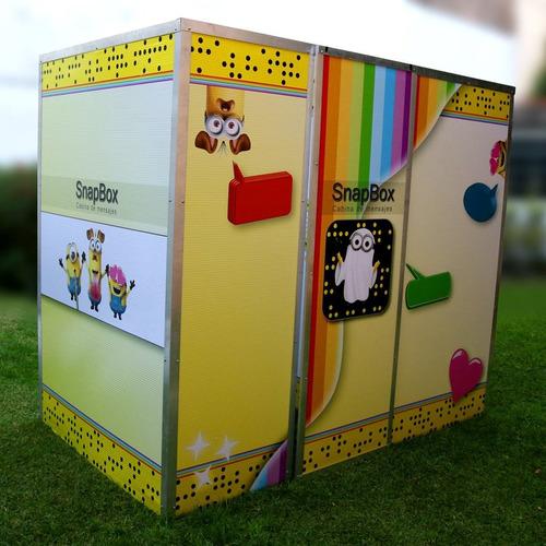 snapbox - cabina de mensajes - foto y video