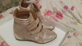 150d4fb543 Sneaker Dourado (marca - Esdra) - Tamanho 36
