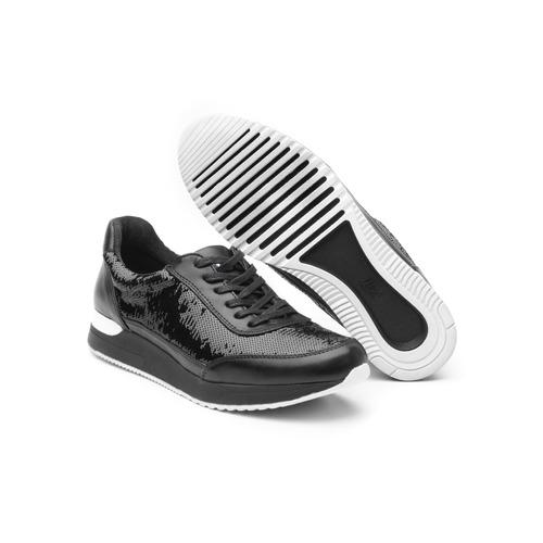 sneaker flexi dama 37704 negro
