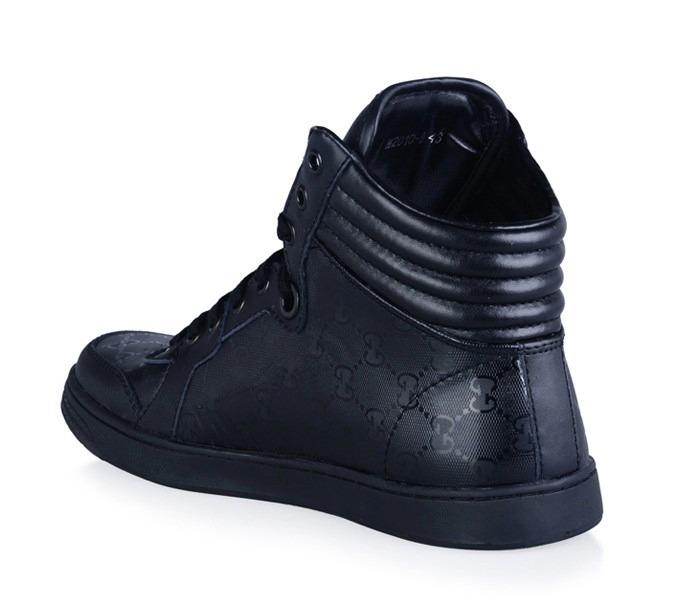 56e3e432b Sneaker Gucci Preto - Boot - Tênis - Lv - R$ 682,60 em Mercado Livre