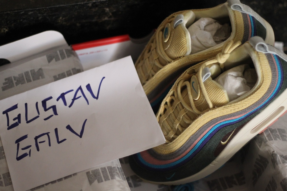 58ab64f7b09 sneaker nike air max 1 97 original 9.5. Carregando zoom.