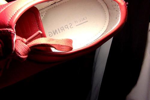 sneakers marca call it spring en tela rojos, para hombres