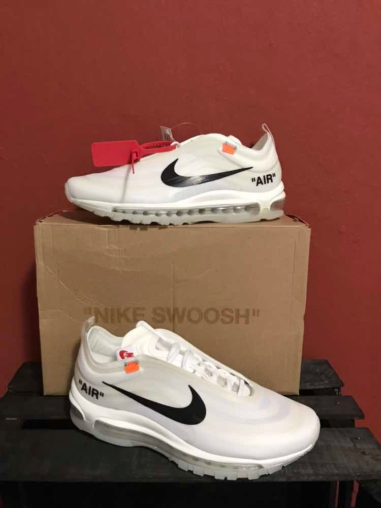Sneakers Nike Air Max 97 Off White Blancos 1.1 Ua Con Caja