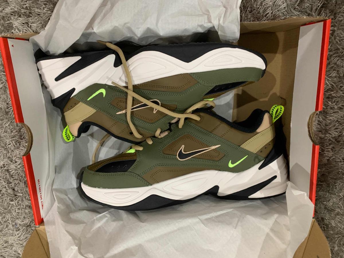 Sneakers Nike M2k Tekno Olivemarrón yukón (originales)