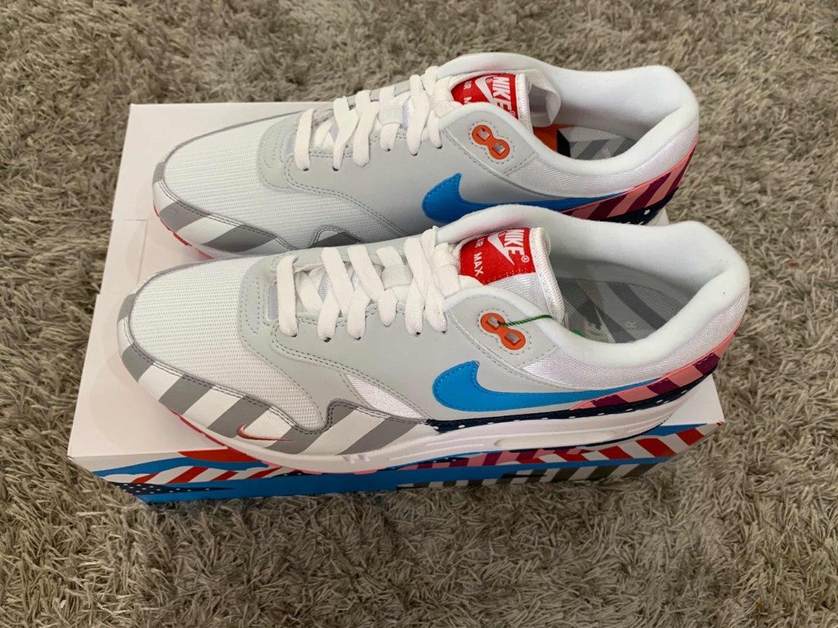brand new bd811 c958c Sneakers Originales Nike Air Max 1 Parra (2018)