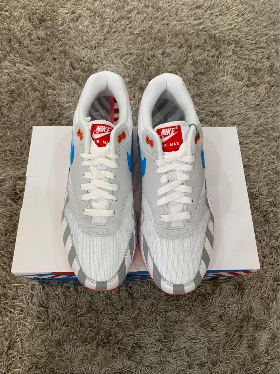 3cf672a1153530  Sneakers Originales Nike Air Max 1 Parra (2018) - 9 251fc823d6d7b