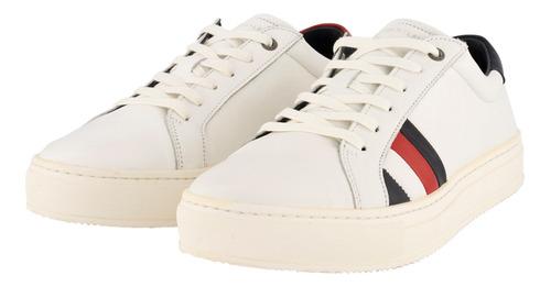 sneakers - tommy hilfiger - fm0fm01819100 - blanco hombre