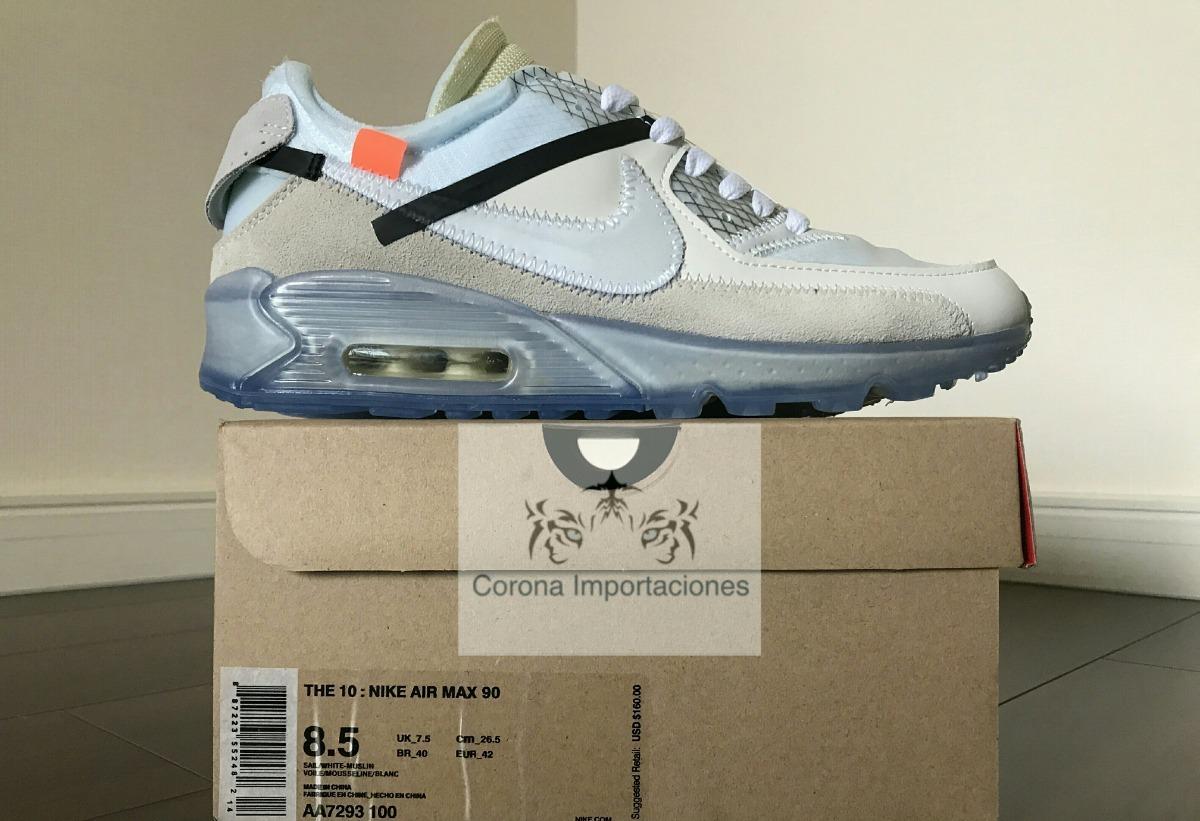 Sneakers Zapatilla Nike Air Max 90 Off white