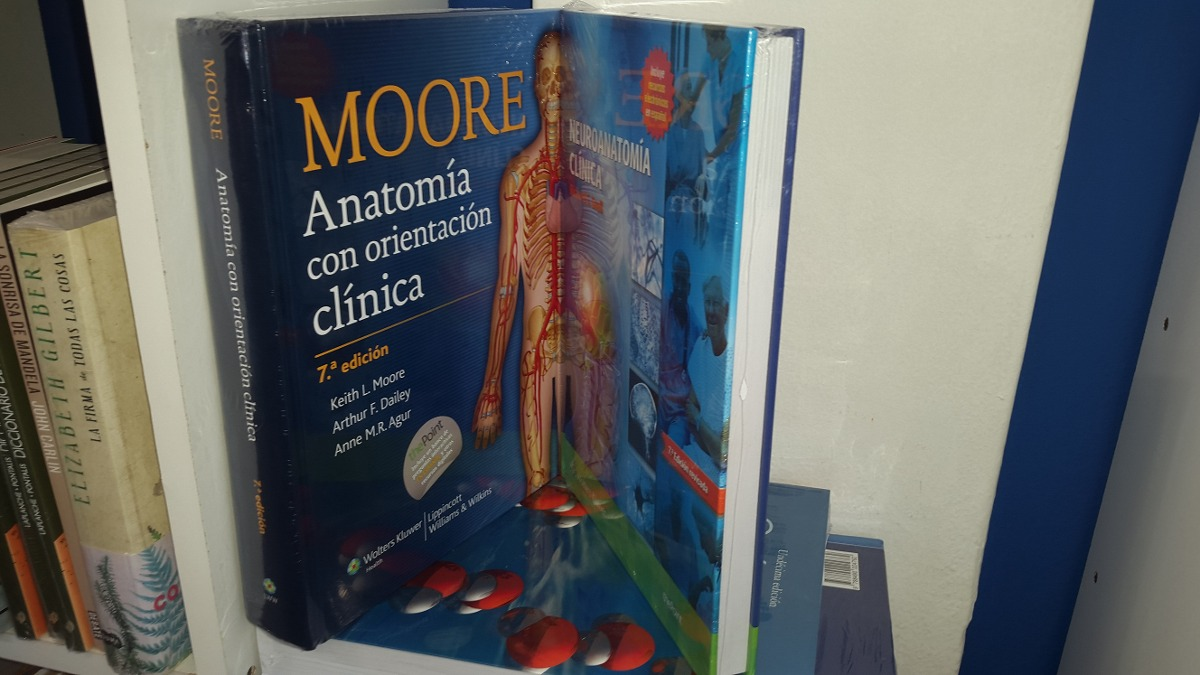Fantástico Anatomía Clínica Moore Regalo - Anatomía de Las ...