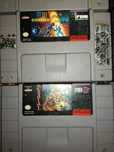 snes cartuchos originales desde $25 usd super nintendo games