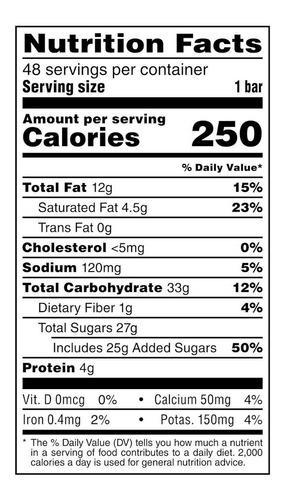snickers barras de chocolate (48 unid)
