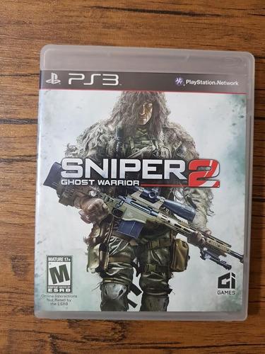 sniper 2 ghost warrior playstation 3 ps3 excelente estado !!
