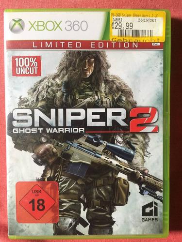 sniper 2 xbox 360