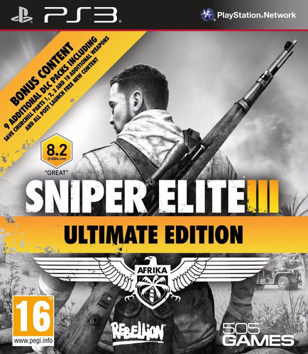 sniper elite 3 ultimat edition ps3 formato digital todos dlc