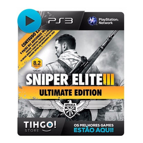 Sniper Elite 3 Ultimate Edition - Leg Portugues Ps3 Cod Psn