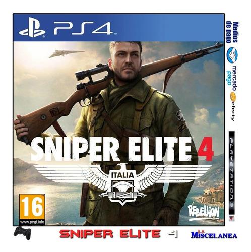 sniper elite 4 ps4 digital | cupo principal