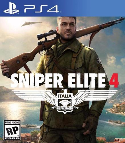 sniper elite juegos ps4