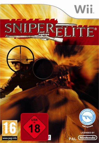 sniper elite nintendo wii nuevo, envío gratis