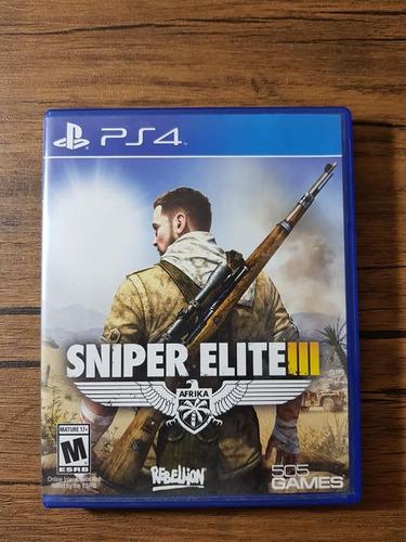sniper elite ps4