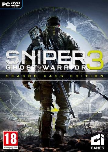 sniper ghost warrior 3 (pc) texto español