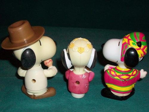 snoopy coleccion mc donald's paises del mundo muñeco juguete