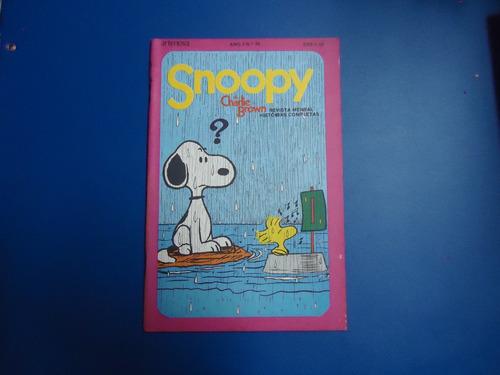 snoopy e charlie brown nº 30 ed artenova 1975 frete grátis
