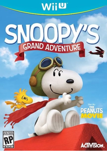 snoopy grand aventure original sellado wii u