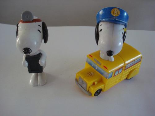 snoopy muñeco burger king (2 figuras) peanuts