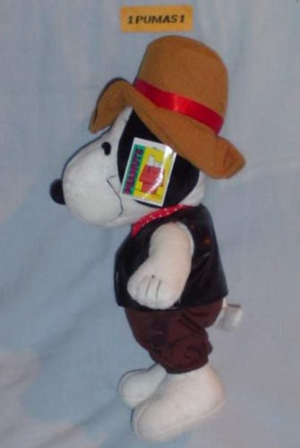 snoopy vaquero solo los mejores personajes con depeluche