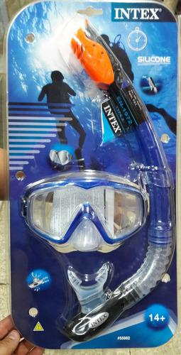 snorkel careta buceo