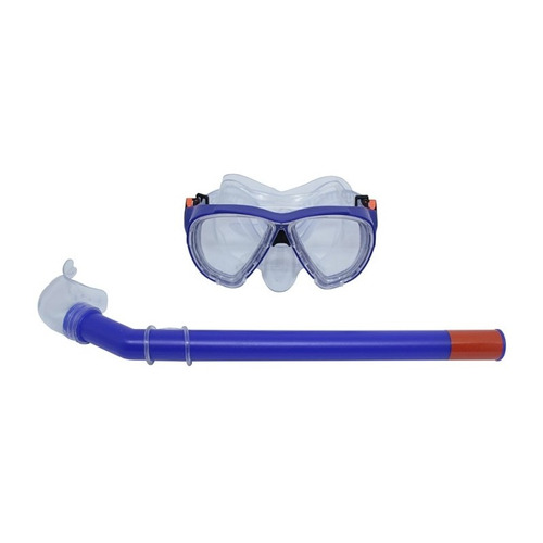 snorkel com máscara premium belfix azul 39700