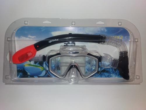 snorkel con mascara gafas de buceo standar adulto