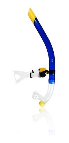 snorkel frontal azul plus escualo