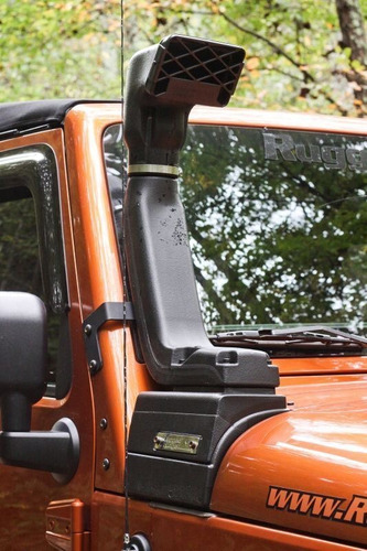 snorkel jeep wrangler 3.6l 2007 a 2017 kit completo