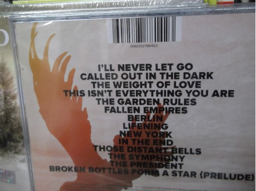snow patrol fallen empires cd sellado