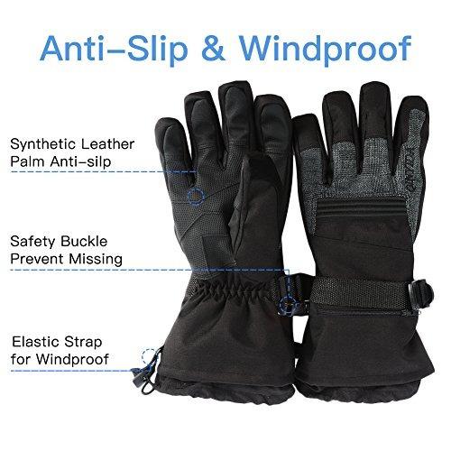 snow ski guantes