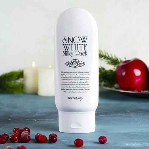 snow white milky pack 200gr secret key crema corea lima perú