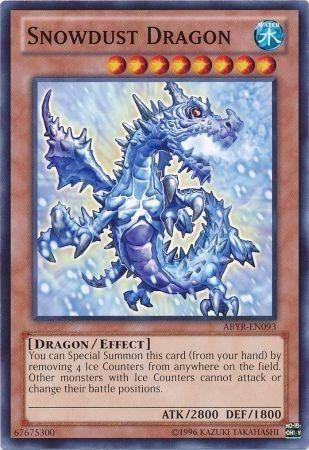 snowdust dragon - abyr-en093 - common unlimited