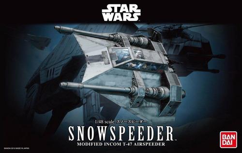 snowspeeder (modelo armable) - bandai