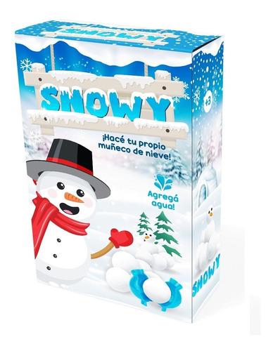 snowy arma tu muñeco de nieve juego de mesa ik0009 educando