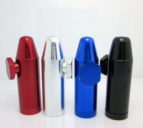 snuff bullet - dosador de rapé e energéticos em pó
