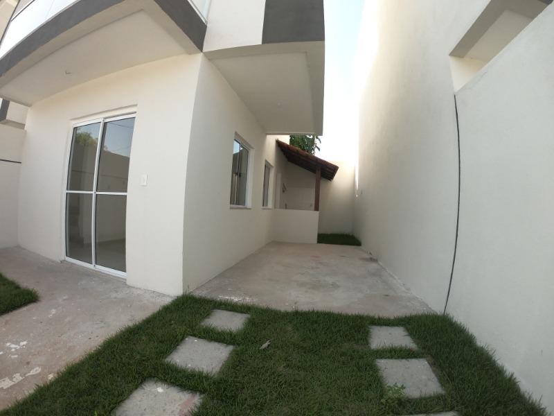 são francisco , jacaraipe, casa duplex com 2 quartos 2 suites , 75 m², pertinho da praia, - ca00246